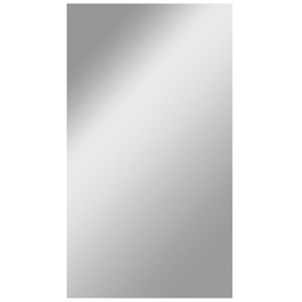 Dreamwalls 42-in x 72-in Silver Polished Rectangle Frameless Traditional Wall Mirror