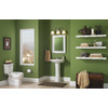 Style Selections White Rectangle Framed Wall Mirror