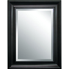 Style Selections 21-in x 27-in White Rectangular Framed Mirror