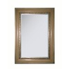 allen + roth 25.25-in x 36.75-in Brownstone Walkup and Antique Silver Rectangular Framed Mirror