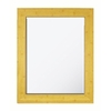 Style Selections 25.8125-in x 33.8125-in Faux Natural Bamboo Rectangular Framed Mirror