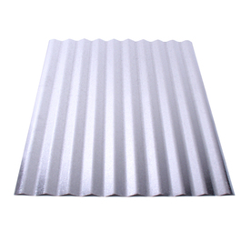 Fabral 10-ft x 26-in 30-Gauge Plain Corrugated Steel Roof Panel