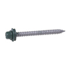 Fabral 100-Count #10 x 1.5-in Painted Galvanized Self-Tapping Exterior Roofing Screws