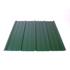 Fabral 144-in Evergreen Ribbed Steel Roof Panel
