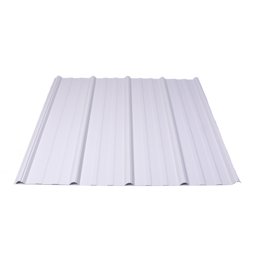 Lowe S Metal Roof Panels : Shop fabral series name width length ribbed steel roof