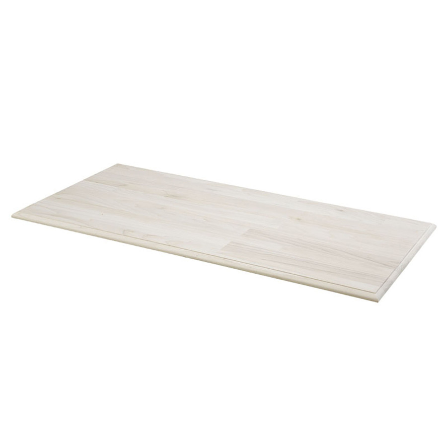 Shop Unfinished Pine Rectangular Wood Table Top at Lowes.com