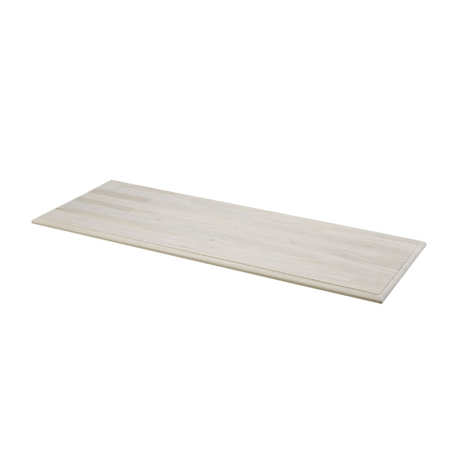Shop Unfinished Pine Rectangular Wood Table Top At Lowes Com