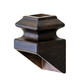Shop Oil Rubbed Bronze Aluminum Baluster Shoe At