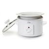 Elite Cuisine 1.5-Quart White Round 1-Vessel Slow Cooker