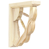 Pine Spindle Corner Bracket