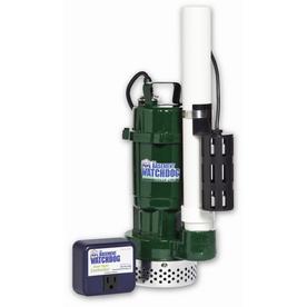 Basement Watchdog 0.5-HP Cast Iron/Cast Aluminum Submersible Sump Pump