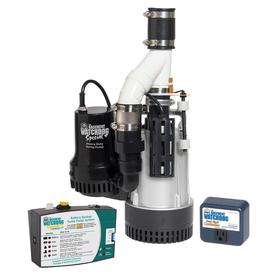 Basement Watchdog 0.5-HP Plastic Submersible Sump Pump