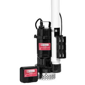shop utilitech 0 5 hp cast iron submersible sump pump at