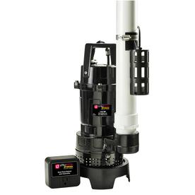 Utilitech 0.75-HP Aluminum Submersible Sump Pump