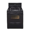Premier 30-in 5-Burner Freestanding 3.9 cu ft Gas Range (Black)