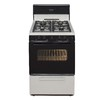 Premier Freestanding 2.9-cu ft Gas Range (Biscuit with Black Trim) (Common: 24-in; Actual: 24-in)