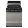 Premier 30-in 4-Burner Freestanding 3.9 cu ft Gas Range (Stainless Steel)