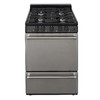 Premier 24-in 4-Burner Freestanding 2.9 cu ft Gas Range (Stainless Steel)