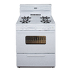 Premier 30-in Freestanding 3.9 cu ft Gas Range (White)