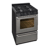 Premier 24-in 4-Burner Freestanding 2.9 cu ft Gas Range (Stainless)