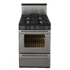 Premier Pro 24-in 4-Burner Freestanding 2.9 cu ft Gas Range (Stainless)