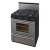Premier Pro 30-in 4-Burner Freestanding 3.9 cu ft Gas Range (Stainless)