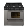 Premier Pro 36-in 5-Burner Freestanding 3.9 cu ft Gas Range (Stainless)