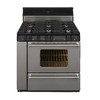 Premier Pro 6-Burner Freestanding 3.9-cu ft Gas Range (Stainless) (Common: 36-in; Actual: 36-in)