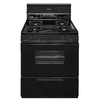Premier Freestanding 3.9-cu ft Gas Range (Black) (Common: 30; Actual: 30-in)