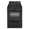 Premier Freestanding Gas Range (Black) (Common: 24-in; Actual: 24-in)
