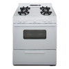 Premier Freestanding Gas Range (White) (Common: 30-in; Actual: 30-in)