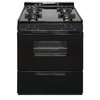 Premier Freestanding Gas Range (Black) (Common: 30-in; Actual: 30-in)
