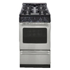 Premier Freestanding 2.4-cu ft Gas Range (Stainless Steel) (Common: 20; Actual: 20.12-in)