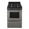 Premier Freestanding 2.9-cu ft Gas Range (Stainless Steel) (Common: 24; Actual: 24-in)