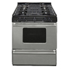Premier Freestanding 3.9-cu ft Gas Range (Stainless Steel) (Common: 30-in; Actual: 30-in)