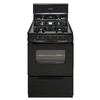 Premier Freestanding 2.9-cu ft Gas Range (Black) (Common: 24; Actual: 24-in)