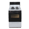 Premier 24-in Freestanding 2.9 cu ft Electric Range (White)