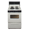 Premier Freestanding 2.9-cu ft Electric Range (Biscuit) (Common: 24-in; Actual: 24-in)