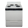 Premier Freestanding 3.9-cu ft Electric Range (Biscuit) (Common: 30-in; Actual: 30-in)