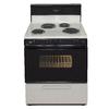 Premier Freestanding 3.9-cu ft Electric Range (Biscuit/Black) (Common: 30-in; Actual: 30-in)