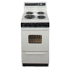 Premier 20-in Freestanding 2.4 cu ft Electric Range (Biscuit)