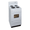 Premier Freestanding 2.4-cu ft Electric Range (White) (Common: 20-in; Actual: 20.12-in)