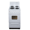 Premier 20-in Freestanding 2.4 cu ft Electric Range (White)