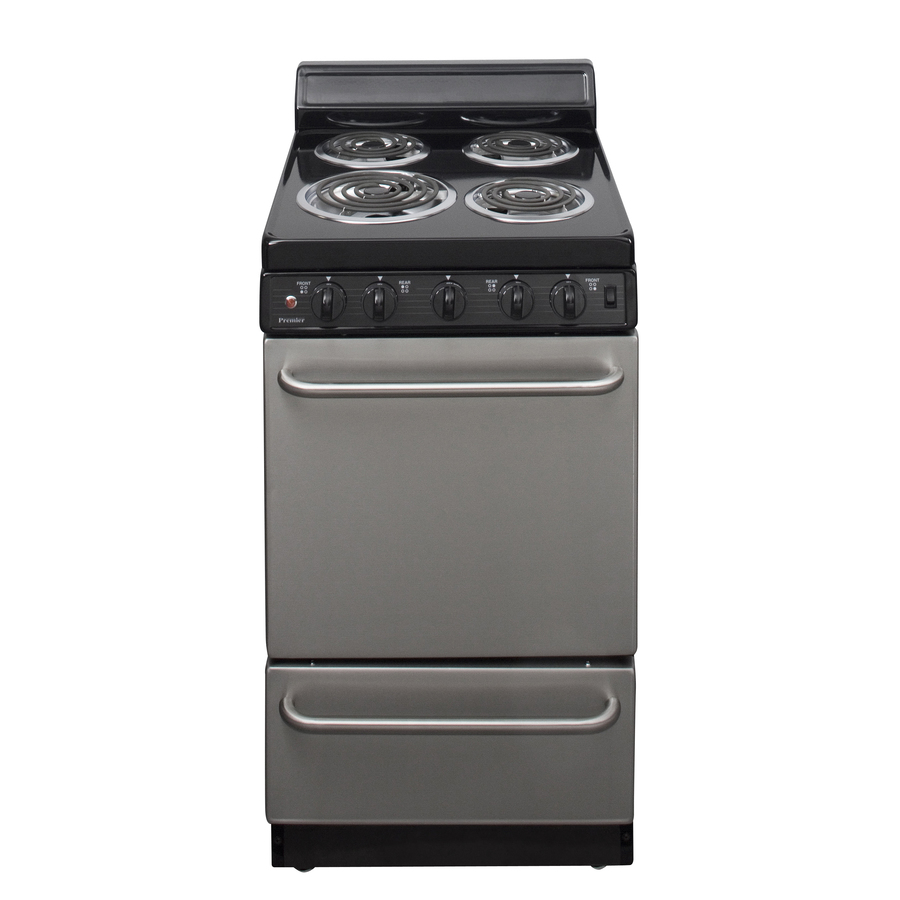 Shop Premier Freestanding 2 4 Cu Ft Electric Range