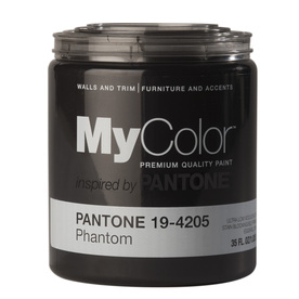 MyColor inspired by PANTONE 35 fl oz Interior Eggshell Phantom Paint and Primer in One