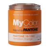 MyColor inspired by PANTONE 35 fl oz Interior Eggshell Vermillion Orange Paint and Primer in One