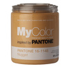 MyColor inspired by PANTONE 35 fl oz Interior Eggshell Nugget Paint and Primer in One
