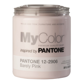 MyColor inspired by PANTONE 35-fl oz Interior Eggshell Barely Pink Water-Base Paint and Primer in One