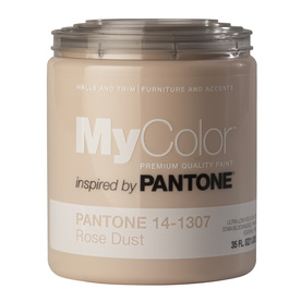 MyColor inspired by PANTONE 35 fl oz Interior Eggshell Rose Dust Paint and Primer in One