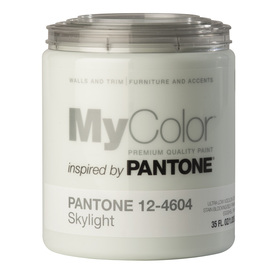 MyColor inspired by PANTONE 35-fl oz Interior Eggshell Sky Light Water-Base Paint and Primer in One